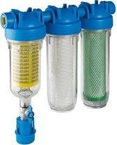 Hydra Rainmaster regenwaterfilter - Regenwater filtratie filter - Triofilter - zelfreinigend - met actief kool