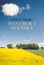 Boek cover Handbok i svenska van Gösta ÅBerg