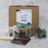 SamStone Doe-het-zelf pakket speksteen paard