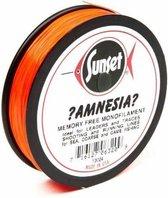 Sunset Amnesia vislijn - 100 meter - Rood - 5,6 kg - visdraad