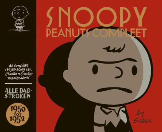Boek cover Snoopy - peanuts compleet hc01. snoopy & peanuts 1950-1952 van C. Schultz (Paperback)