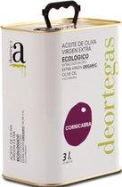 Biologisch Spaanse olijfolie extra vierge Koudgeperst - Cornicabra 3 ltr