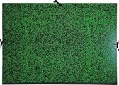 Tekenmap Annonay met linten 52x72cm - Groen