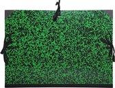 Exacompta 531100E - Tekenmap Annonay met linten 26x33cm - voor formaat A4 en 24x32cm - Groen