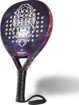 Padel Racket - Gorilla - Traanvorm - 3K Carbon