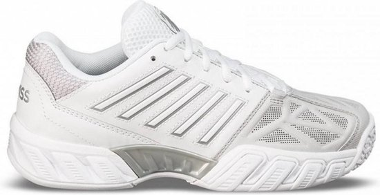 K•Swiss BIGSHOT LIGHT 3 OMNI - WHITE/SILVER - Tennisschoenen