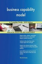 business capability model A Complete Guide - 2019 Edition