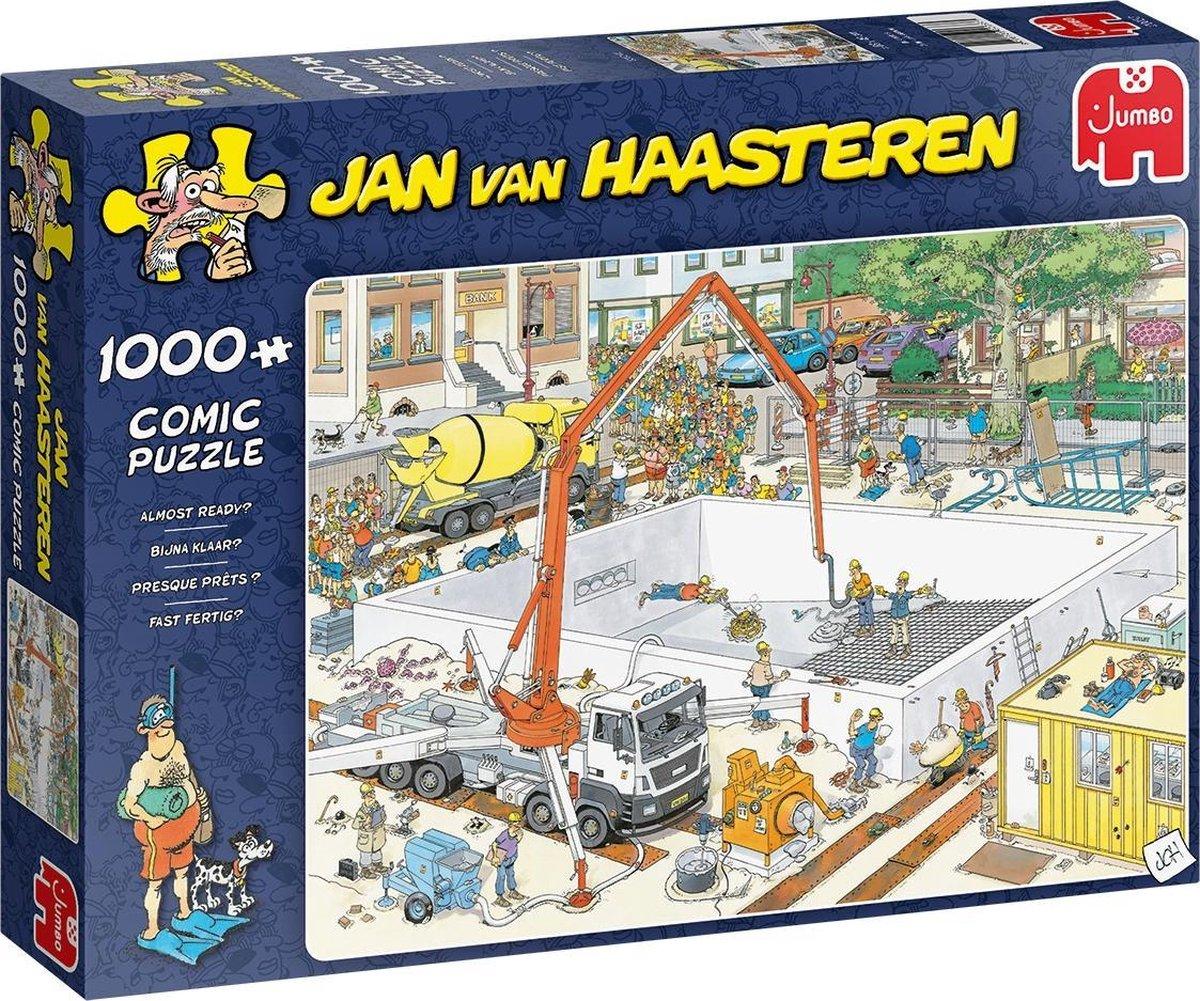 Jan van Haasteren Bijna Klaar? puzzel - 1000 stukjes