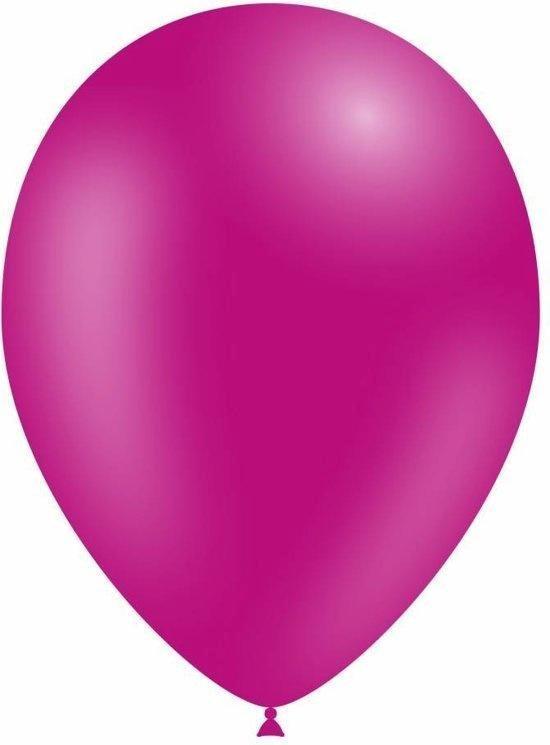 Fushia Ballonnen - 12 stuks