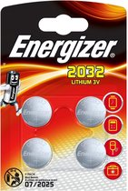 Energizer CR2032 - 4 batterijen ...
