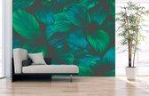 Fotobehang Bloemen - uit 1 stuk, Naadloos Fotobehang - 350 x 305 cm (bxh) - op elk formaat leverbaar