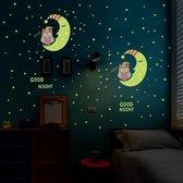 DisQounts - Sterren aan de hemel - Glow in the dark sterren - lichtgevende sterren - Leuk voor in de kinderkamer
