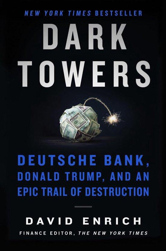 Boek cover Dark Towers van David Enrich (Onbekend)