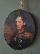 Houten hanger generaal Johannes van den Bosch