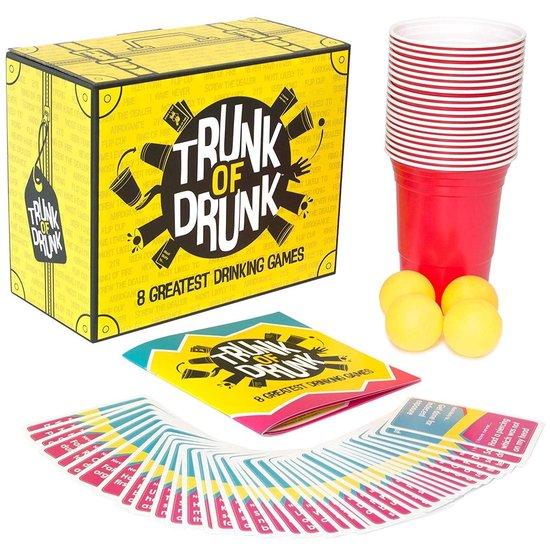 Trunk of Dronken – 8 Grootste Drinkspellen (Beer Pong, Ring of Fire, Nooit Heb Ik Ooit en Meer)