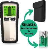 Digitale Leidingzoeker - Gratis Softcase & 9 V Batterij – 5 Scanmethodes – Detectieapparaat - Multidetector - LCD Scherm – Multifunctioneel – Metaal Detector – Muurscanner – Wallscanner - Klussen