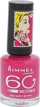 Rimmel 60 seconds RO collectie Nagellak - 323 Don't Be Shy
