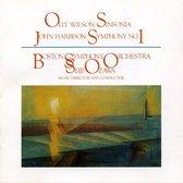 Wilson: Sinfonia, Harbison: Symphon
