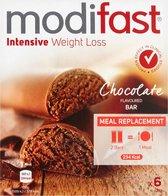 Modifast Intensive Lunchrepen Chocolade- 6 repen