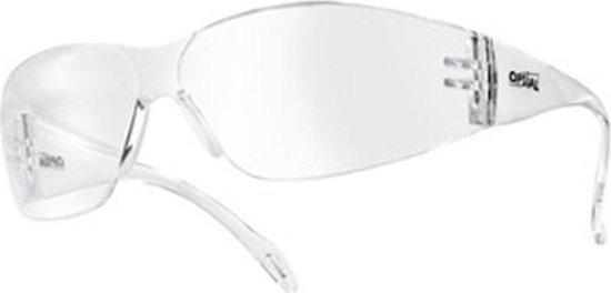 Opsial veiligheidsbril Pc A-Kras/Damp Helder Op'Visio