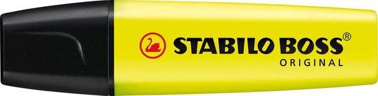STABILO BOSS ORIGINAL Markeerstift - Geel - 1 stuk