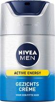 NIVEA MEN Active Energy Dagcrème - 50 ml - Gezichtscrème