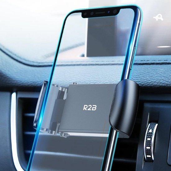 R2B Telefoonhouders auto geschikt voor ventilatierooster - Universeel