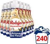 Robijn Amour de Fleur Wasverzachter - 8 x 30 wasbeurten - Voordeelverpakking