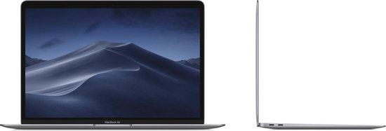 Apple Macbook Air (2018) – 128 GB opslag – 13.3 Inch - Grijs