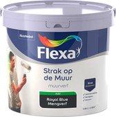 Flexa Strak op de muur - Muurverf - Mengcollectie - Royal Blue - 5 Liter