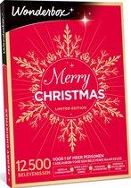 Wonderbox Cadeaubon Kerst - Merry Christmas