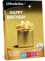 Wonderbox Cadeaubon - Happy Birthday