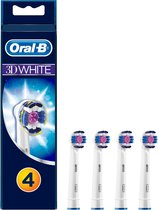 Oral-B 3D White - 4 stuks - Opzetborstels