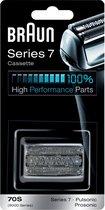 Braun Series 7 70S Cassette Zilver - Vervangend Scheerblad