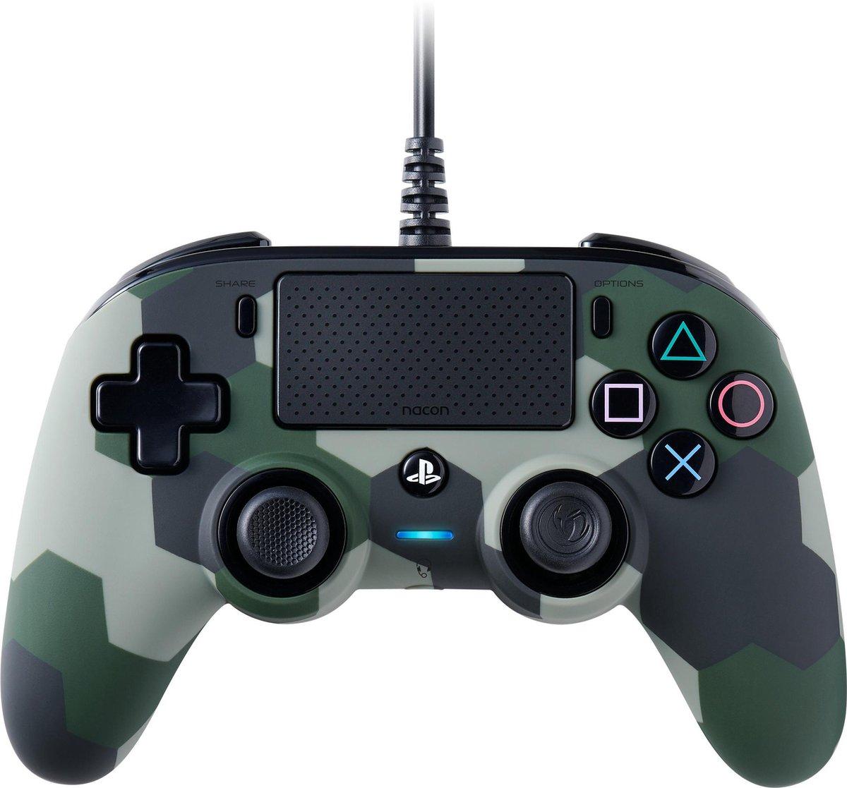 Nacon Compact Official Licensed Bedrade Controller - PS4 - Camo