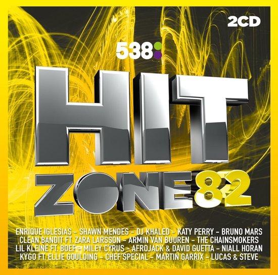 CD cover van 538 Hitzone 82 van Hitzone