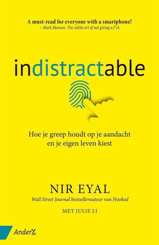 Boek cover Indistractable van Nir Eyal (Onbekend)