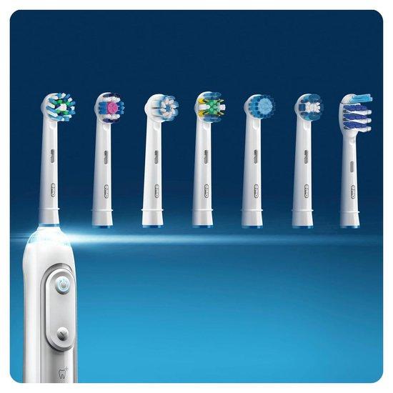 Oral-B CrossAction - Opzetborstels - 10 stuks - Wit