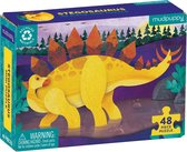 Mini Puzzel - Stegosaurus 48st | Mudpuppy