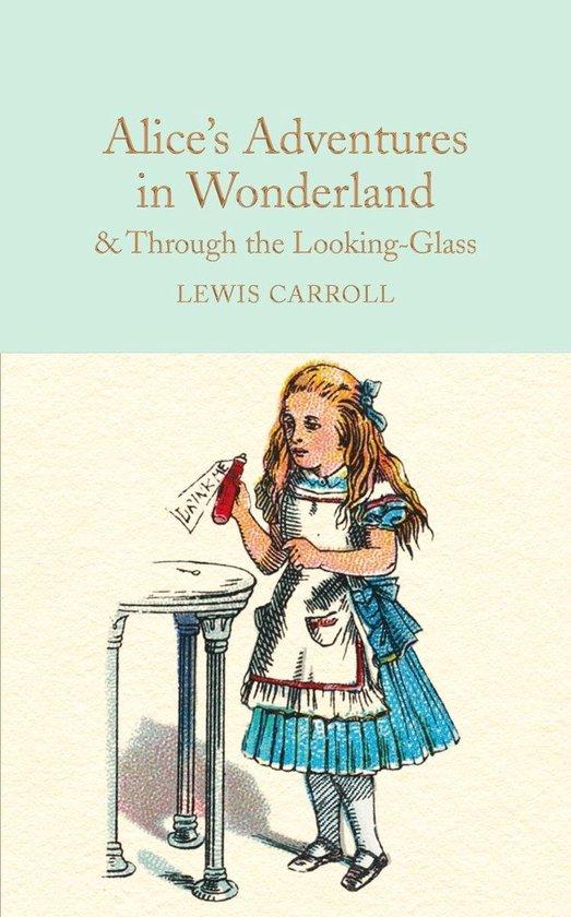 Boek cover Alices Adventures in Wonderland & Through the Looking-Glass van Lewis Carroll