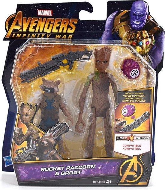 Marvel Avengers Infinity War - Rocket Raccoon & Groot