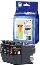 Brother LC-3217 - Inktcartridge / Zwart / Cyaan /