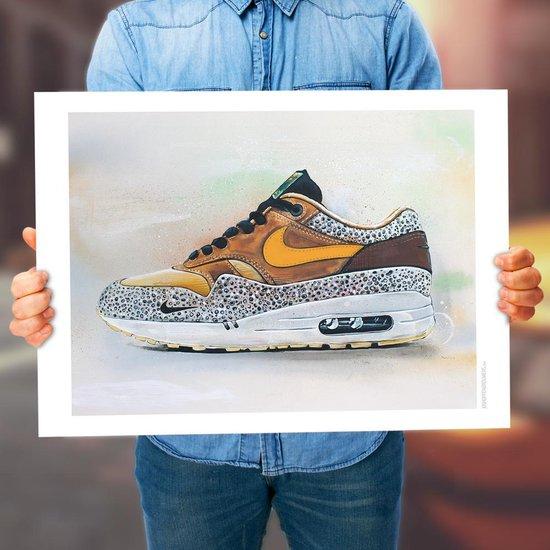Nike air max 1 Atmos Safari poster 02 (50x70cm)