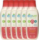 Ecover Sensation Florale- Wasverzachter - 6 x 1 liter (198 Wasbeurten) - Voordeelverpakking