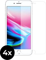 4x Tempered Glass screenprotector -  iPhone 7 Plus