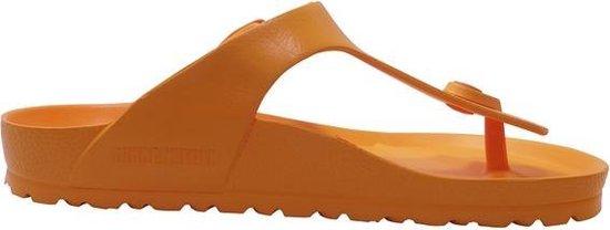 Birkenstock Teenslipper Gizeh EVA 1015473 Oranje Breed