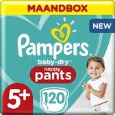 Pampers Baby-Dry Pants Luierbroekjes - Maat 5+ (12