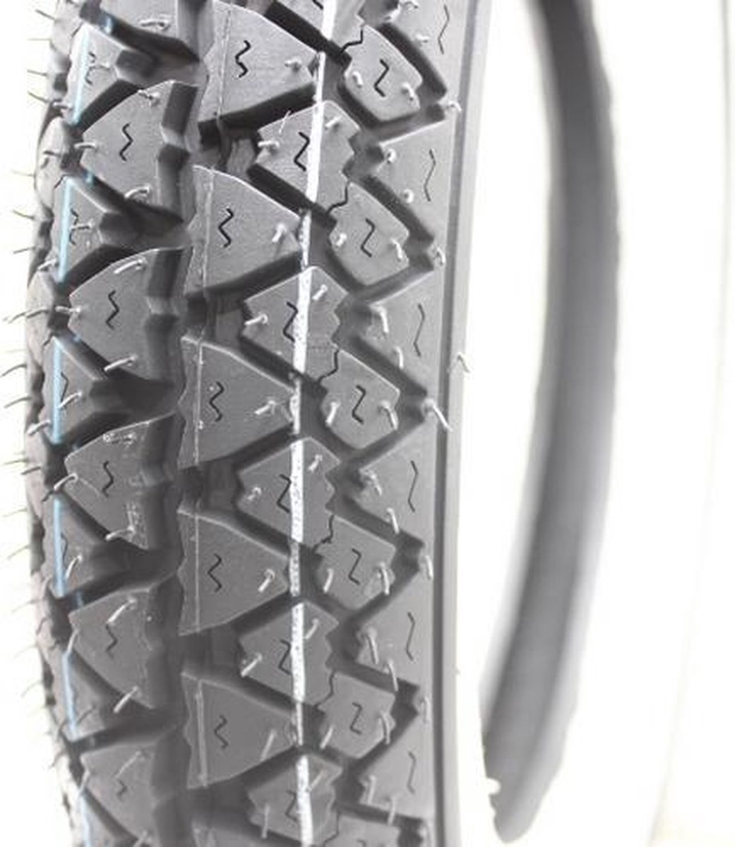 Buitenband White wall 10-3.50 Tubeless All-weather White Wall. o.a. Peugeot V-Clic V./A. Eagelwing R