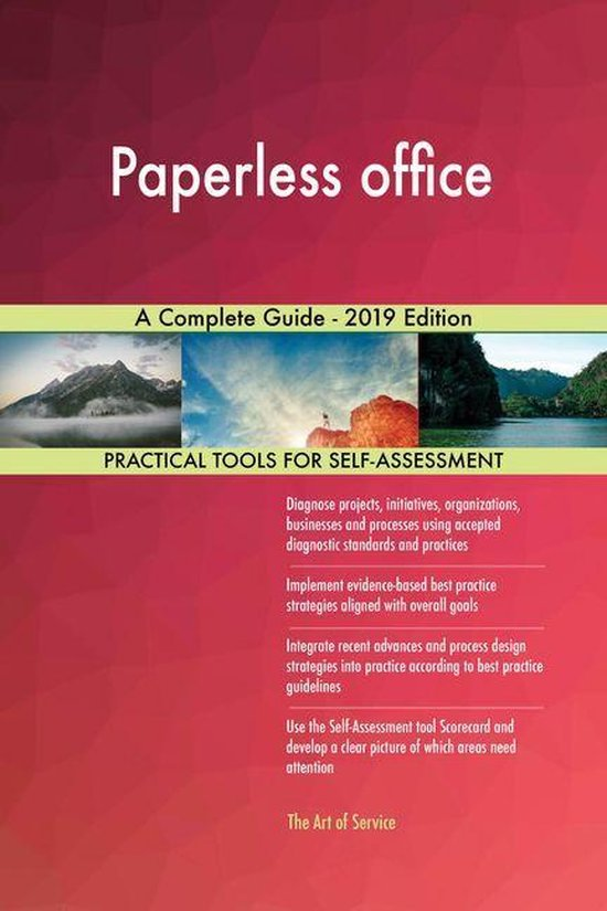 Paperless office A Complete Guide - 2019 Edition
