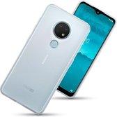 Nokia 6.2 / Nokia 7.2 telefoonhoesje, gel case, volledig doorzichtig - Telefoonhoesje geschikt voor: Nokia 6.2; Nokia 7.2